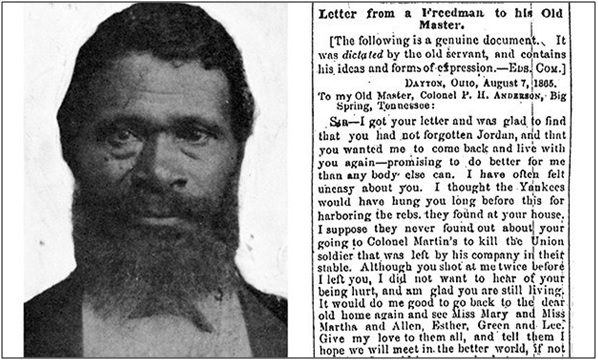 A Slave's Letter to His Former Master