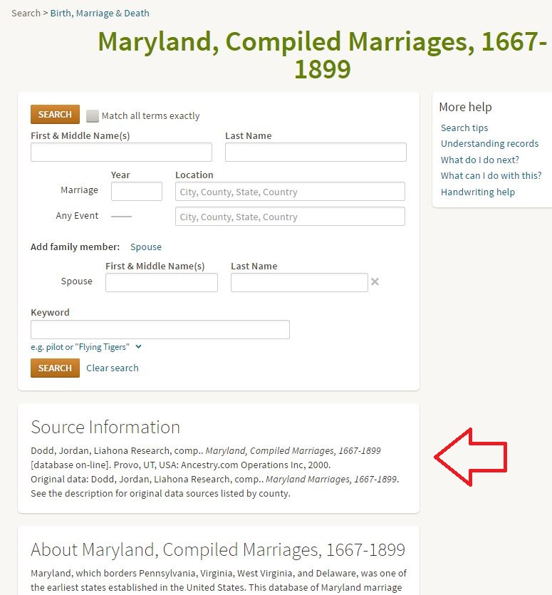 Searching Ancestry Databases: Things You Should Know